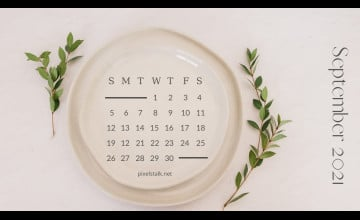 September 2021 Calendar Wallpapers