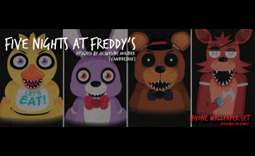 Set Wallpaper FNAF 3