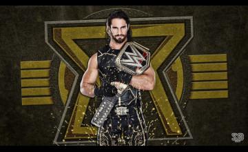 Seth Rollins WWE Champion Wallpaper
