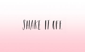 Shake It Off Desktop Wallpaper