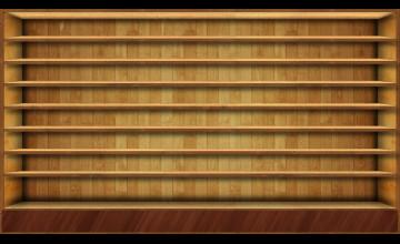 Shelves Wallpaper