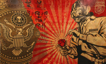 Shepard Fairey Wallpaper
