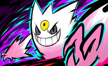Shiny Mega Gengar Wallpaper