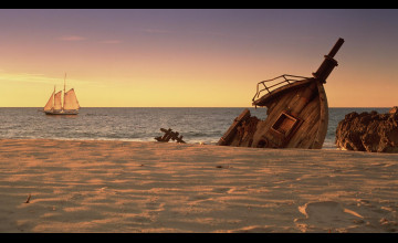 Shipwreck Background