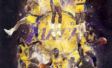 Showtime Lakers Wallpaper