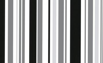 Silver Stripe Wallpaper