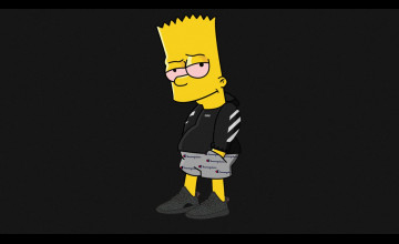 Simpsons Wallpaper Hypebeast