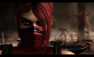 Skarlet Mortal Kombat Wallpaper