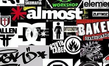 Skateboarding Logo Wallpaper
