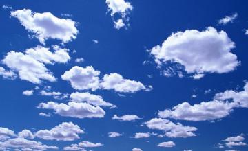 Sky Cloud Wallpaper Border