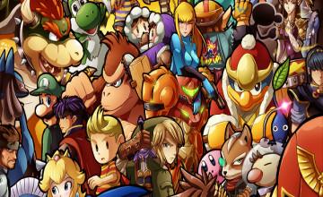 Smash Bros iPhone Wallpaper