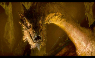 Smaug The Dragon Wallpaper