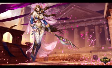 Smite Aphrodite Wallpaper