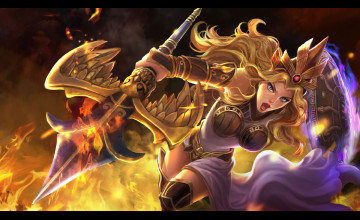 Smite Athena Wallpaper