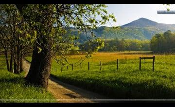 Smoky Mountains Spring Wallpaper