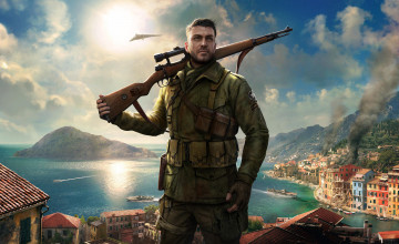 Sniper Elite 4 Wallpapers