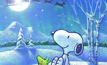 Snoopy Christmas Wallpaper for Computer