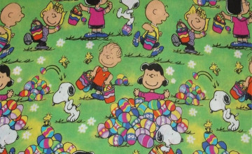 Snoopy Easter Wallpaper