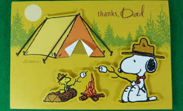 Snoopy Father's Day Wallpapers