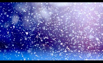 Snow Falling Wallpaper