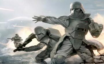 Snow Trooper Wallpaper