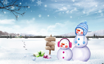 Snowmen Backgrounds