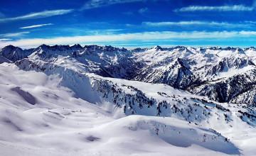 Snowy Mountain Landscape Wallpapers