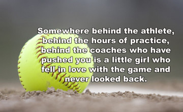 Softball Quotes Wallpapers