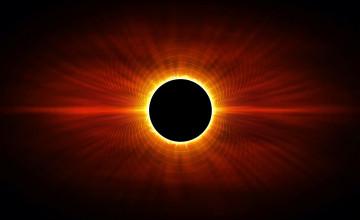 Solar Eclipse Wallpaper