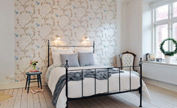 Sophisticated Wallpaper Bedroom Makeovers