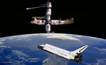 Space Shuttle Desktop Wallpaper