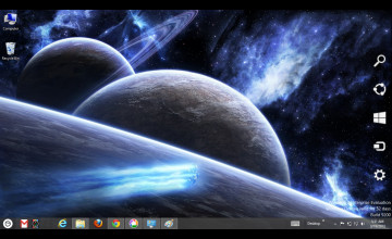 Space Theme Wallpaper