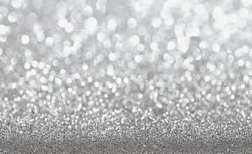 Sparkling Silver Wallpaper