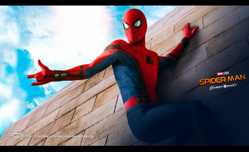 Spider-Man Homecoming Wallpaper Costume