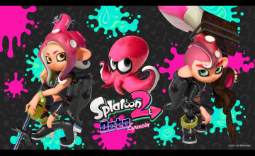 Splatoon 2: Octo Expansion Wallpapers
