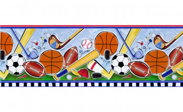 Sports Wallpaper Border