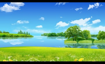 Spring Desktop Wallpaper 1600x900