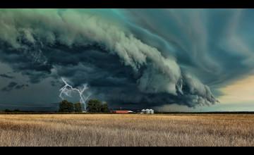 Spring Storms Wallpaper