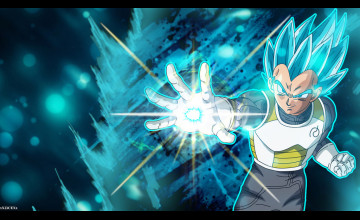 SSGSS Vegeta Wallpaper