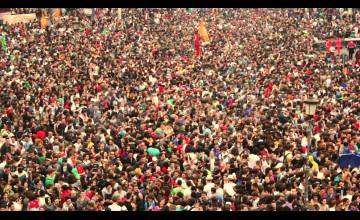 Stadium Crowd Wallpaper