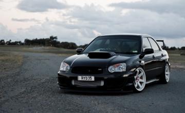 Stance Subaru STI Wallpaper
