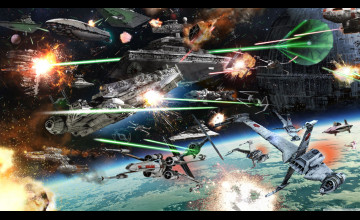 Star Wars Battle Background