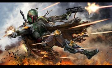 Star Wars Boba Fett Background