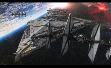 Star Wars First Order Wallpaper