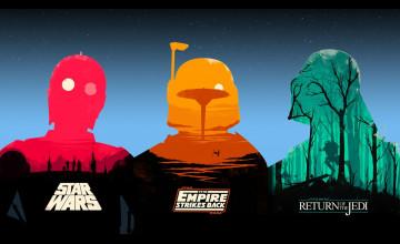 Star Wars Trilogy Wallpaper