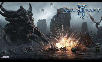 Starcraft 2 Backgrounds