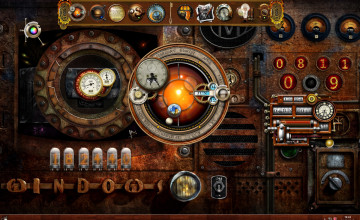 Steampunk Animated Wallpaper