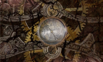 Steampunk iPhone Wallpaper