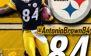 Steelers Antonio Brown Wallpaper HD