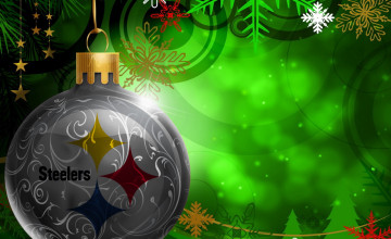 Steelers Christmas Wallpaper